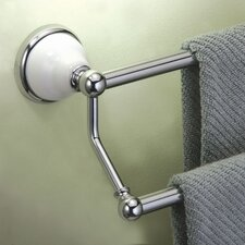 """Franciscan 26.63"""" Wall Mounted Double Towel Bar"""