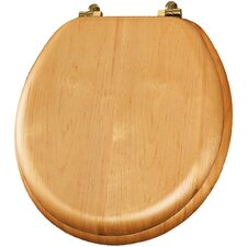 <strong>Bemis</strong> Natural Reflections Wood Veneer Round Toilet Seat