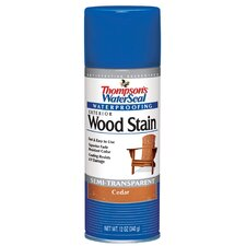 Cedar Waterseal Wood Stain Spray Paint