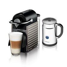 Pixie Espresso Maker with Aeroccino Plus Milk Frother Bundle
