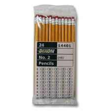 No. 2 Pencil in Yellow (Set of 24)