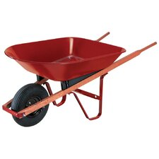 4 Cubic Foot Steel Wheelbarrow