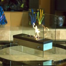 <strong>Bluworld</strong> Ardore Tabletop Bio Ethanol Fuel Fireplace