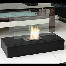 Fiamme Freestanding Bio Ethanol Fuel Fireplace