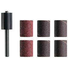 "6 Count 1/2"" Assorted Grit Trio™ Sanding Drum Mandrel TR470"