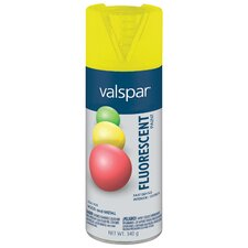 <strong>Valspar</strong> Fluorescent Yellow Spray Paint