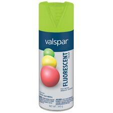 <strong>Valspar</strong> Fluorescent Green Spray Paint