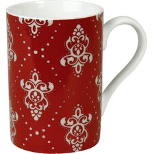 Winter Splendor 10 oz. Rocaille Mug (Set of 4)
