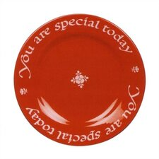 "10.5"" You Are Special Today Plate with Pen"