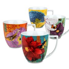 Urbana 12 oz. Assorted Mug (Set of 4)