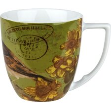 Accents Nature 12 oz. Bird Mug (Set of 4)