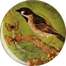 Accents Nature Bird Plate (Set of 4)
