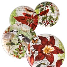 "Accents Traditions 8"" Assorted Plates (Set of 4)"