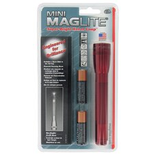 Red Mini Maglite® With Candle Mode M2A03H