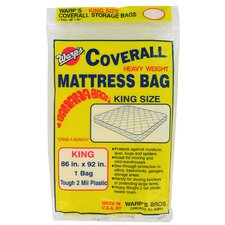 "<strong>Warps</strong> 86"" x 92"" King Size Banana Bags Mattress Bag"