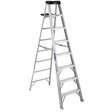 <strong>Werner</strong> 8' Aluminum Step Ladder