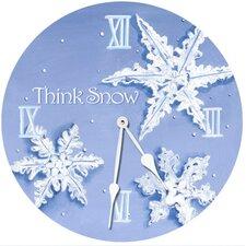 """18"""" Cocoa Cabana Teddy Wall Clock"""
