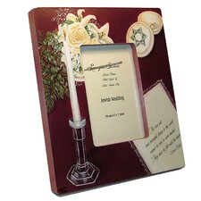 Judaica Jewish Wedding Large Picture Frame