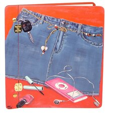 Children and Baby Denim Blues Large Book Photo Album