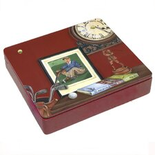 <strong>Lexington Studios</strong> Always Time For Golf  Decorative Storage Box