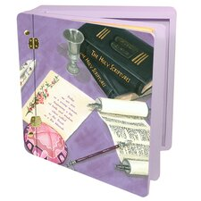 Judaica Wood Her Bat Mitzvah Memory Box
