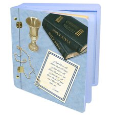 Children and Baby His First Communion Memory Box