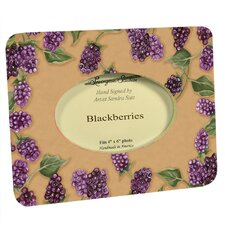 Home and Garden Blackberries Small Picture Frame