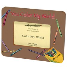 Children and Baby's Color My World Small Picture Frame
