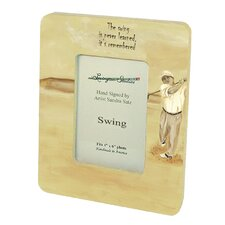 Sports Swing Small Picture Frame