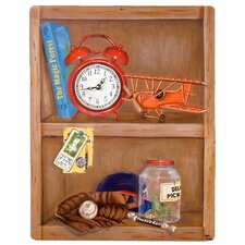 Children and Baby Make Time for Play Wall Clock