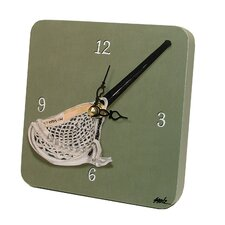 Sports Lacrosse Tiny Times Clock