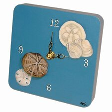 Seashells Tiny Times Clock