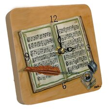Home and Garden Composing Tiny Times Clock