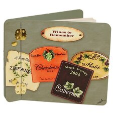 Home and Garden Wine and Spirits To Remember Mini Book Photo Album