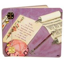 Judaica Her Bat Mitzvah Mini Book Photo Album