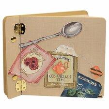 Home and Garden Cup of Tea Mini Book Photo Album