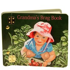 Children and Baby Grandma's Brag Mini Book Photo Album