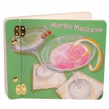 Home and Garden Martini Madness Mini Book Photo Album