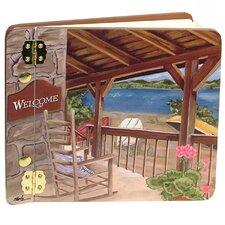 Travel and Leisure Lake House Mini Book Photo Album