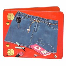 Denim Blues Mini Book Photo Album