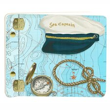 Travel and Leisure Sea Captain Mini Book Photo Album