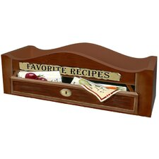 <strong>Lexington Studios</strong> Favorite Recipes Caddy