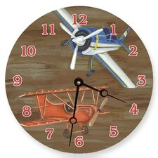 "18"" Airplanes Wall Clock"