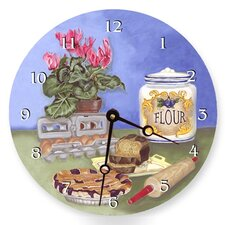 Bakers Round Clock