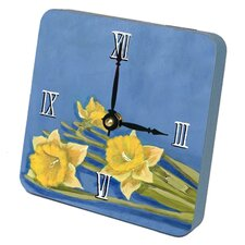 <strong>Lexington Studios</strong> Daffodill Tiny Times Desk Clock
