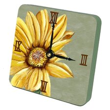 Sunflower Tiny Times Desk Clock