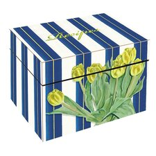 Tulips Large Recipe Box