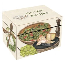 <strong>Lexington Studios</strong> Garden Recipes Large Recipe Box