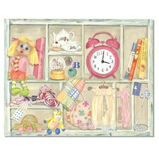Isabella's Treasures Wall Clock