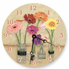 "<strong>Lexington Studios</strong> 10"" Gerber Bottles Wall Clock"